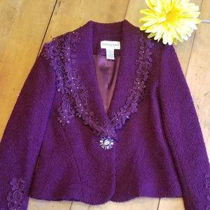 Women's Evening Jacket Size 2P